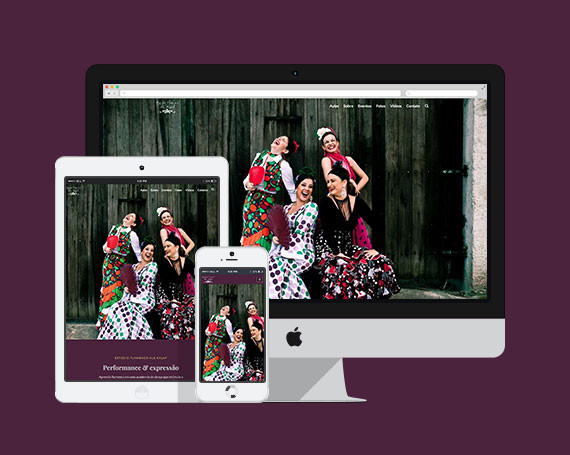 Web Estúdio Flamenco Ale Kalaf